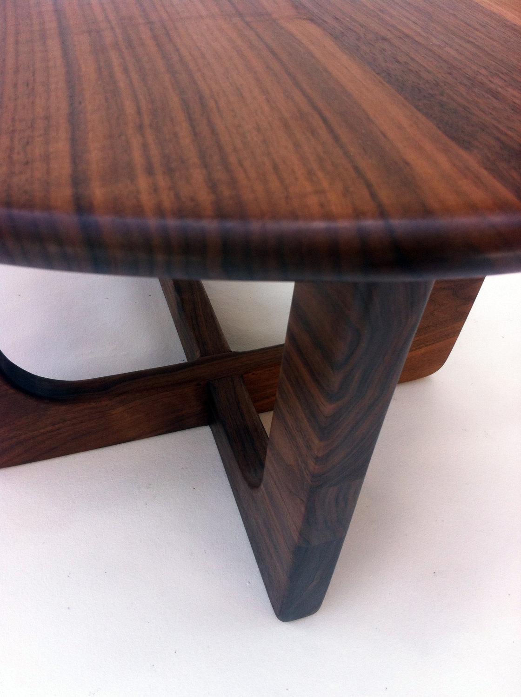 50 u2033 kidney bean cocktail table u2013 mid century modern coffee table