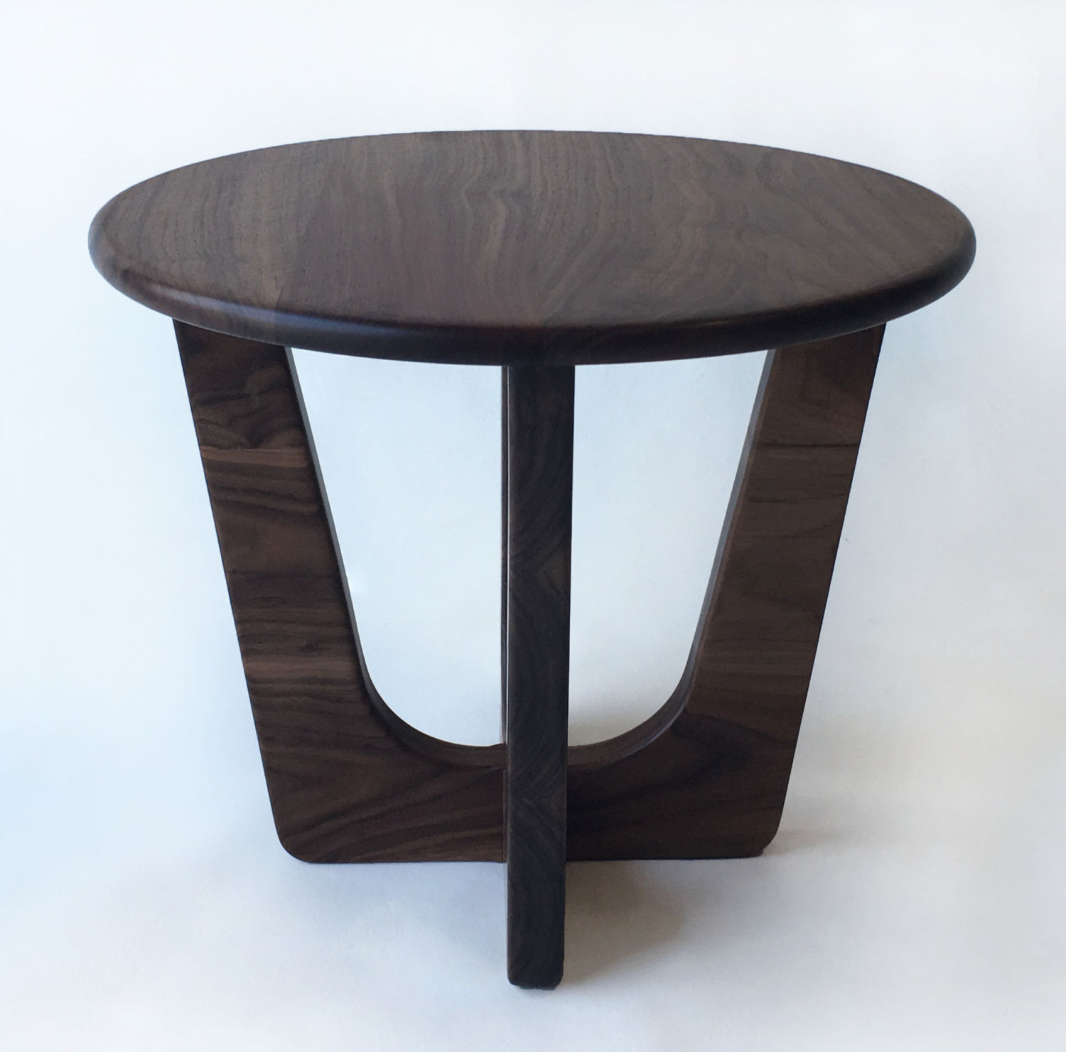 Pearsall Inspired 20u2033 Round Mid Century Modern Coffee Cocktail Table ...