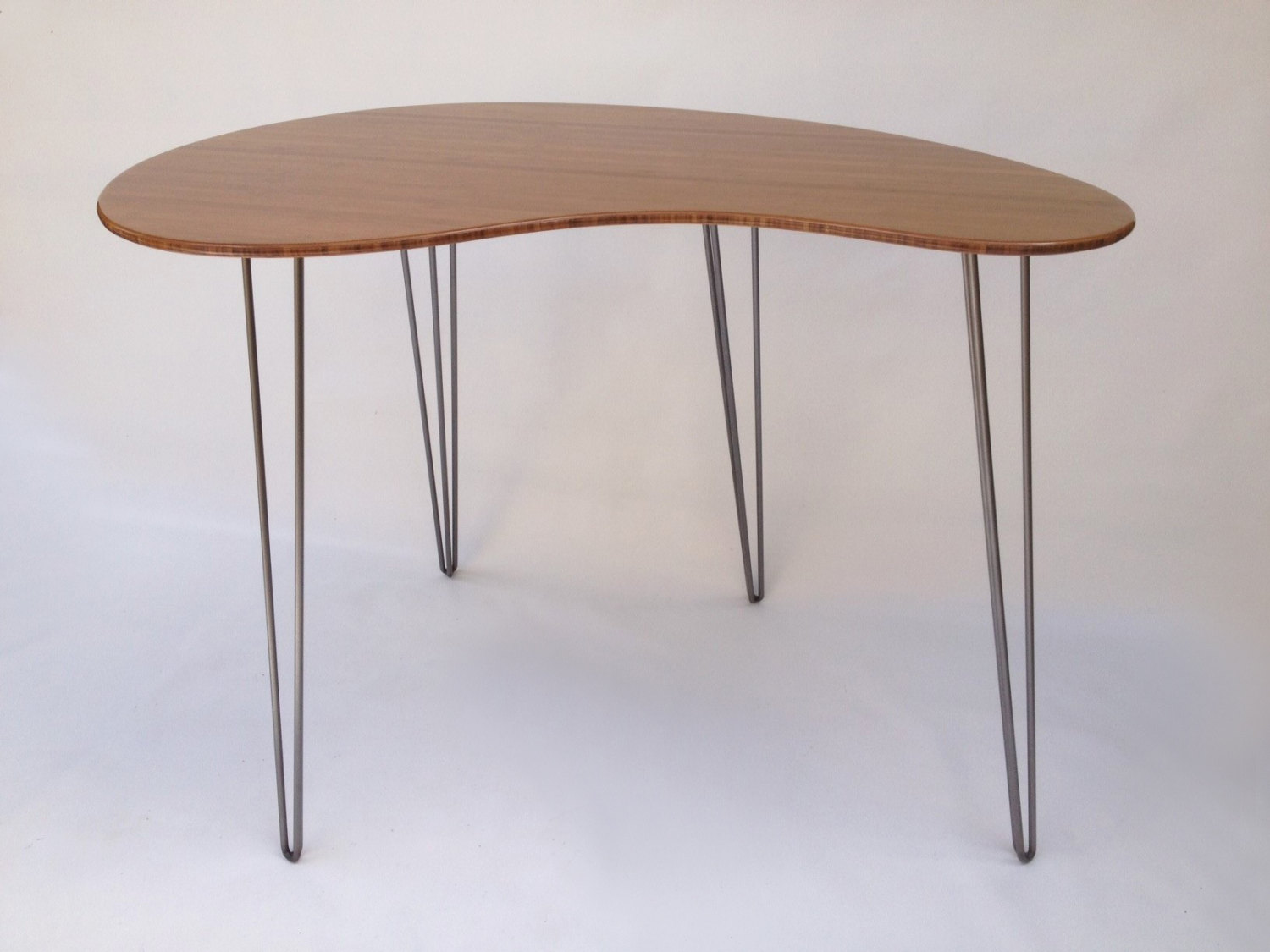 custom standing desk kidney shaped mid. 60u2033 standing desk mid custom kidney shaped