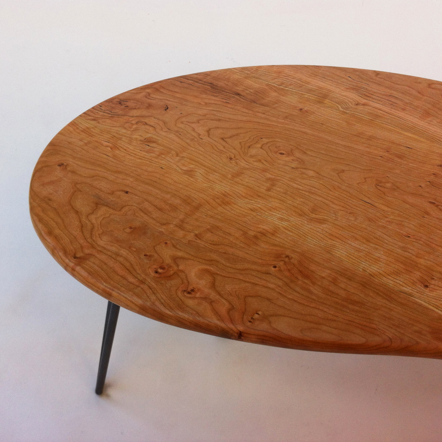 Mid Century Modern Coffee or Cocktail Table – Kidney Bean Shaped