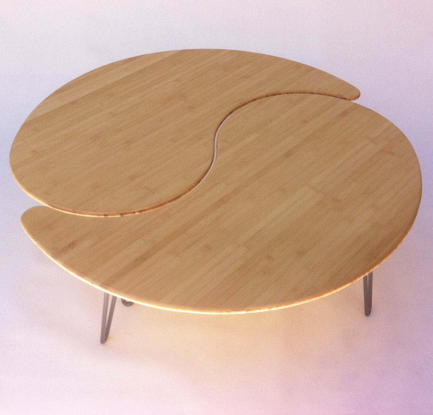 yin yang coffee table