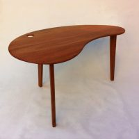 custom standing desk kidney shaped mid. mid century modern solid hardwood desk u2013 kidney bean shaped atomic era biomorphic boomerang design in mahogany custom standing d