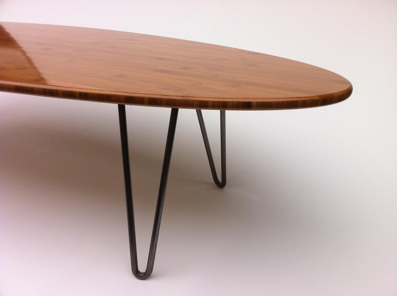 Prime Mid Century Modern Caramelized Bamboo Elliptical Coffee Table Creativecarmelina Interior Chair Design Creativecarmelinacom