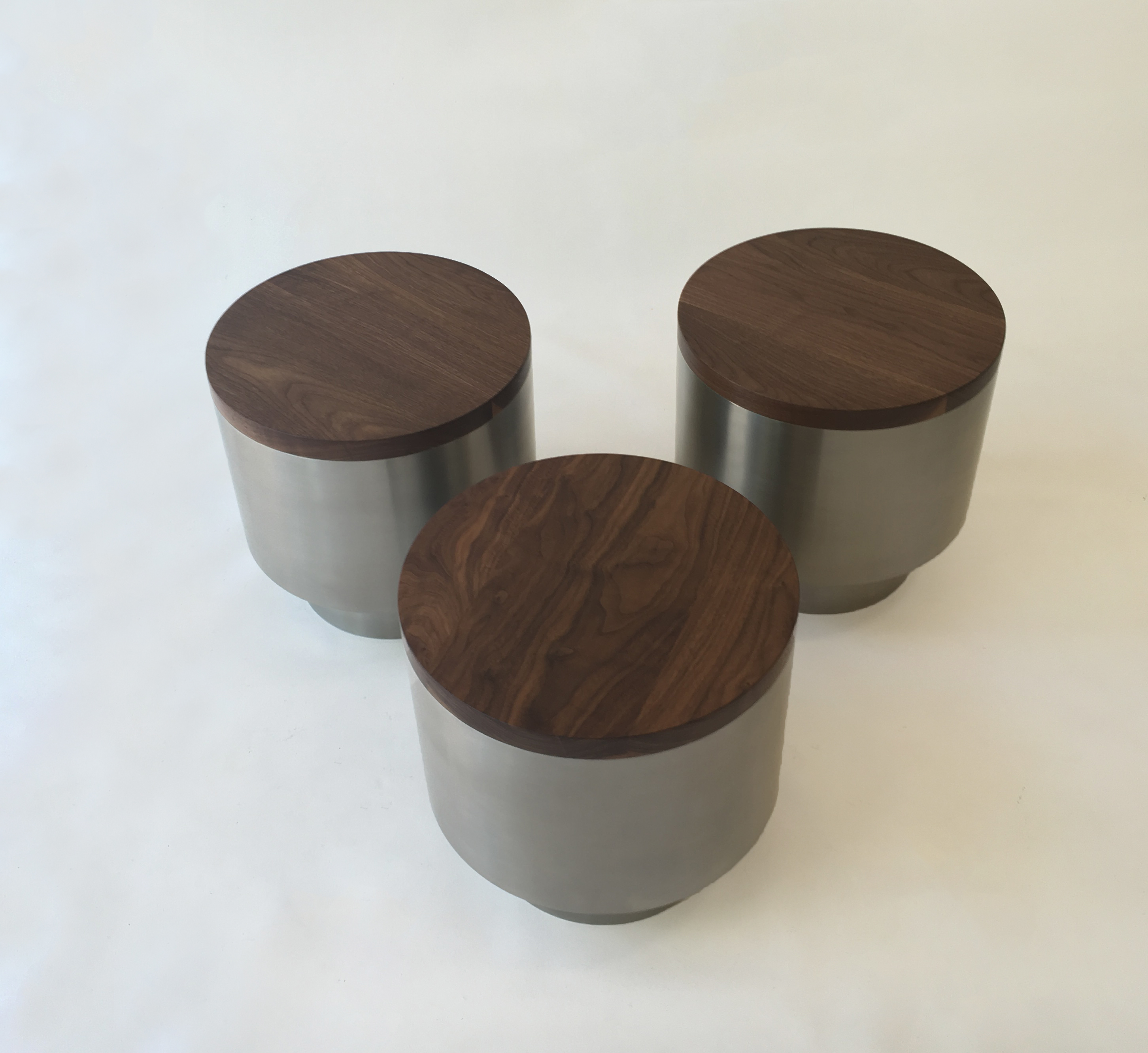 Mid Century Modern Style Side Tables – Set of Three Contemporary